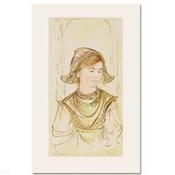 "Edna Hibel (1917-2014) ""Helen"" Limited Edition Lithograph"
