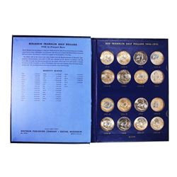 Set of 1946-1963-D Brilliant Uncirculated Franklin Half Dollar Coins
