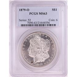 1879-O $1 Morgan Silver Dollar Coin PCGS MS63