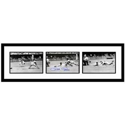 """Pete Rose """"Rose Diving Series"""" Framed Archival Photograph"""