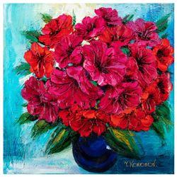 "Yana Korobov ""Sincere Relations"" Original Acrylic On Canvas"