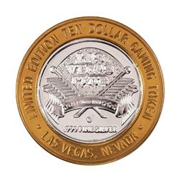 .999 Silver Las Vegas, Nevada Club $10 Casino Limited Edition Gaming Token