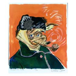 "Chuck Jones (1912-2002) ""Vincent Van Coyote"" Limited Edition Lithograph"