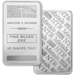 TEXAS .999 Fine Silver 10oz Bar - Made in USA, Collector Bullion.