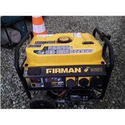 200 - Fireman 3650 Generator