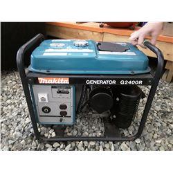 201 - Makita G2400R Generator