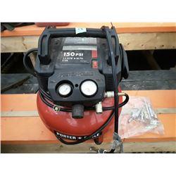 202 - Porter Cable 150 PSI Compressor