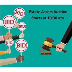 Estate Asset Auction Items