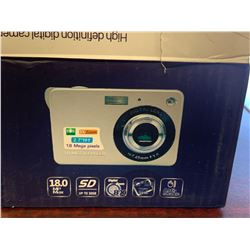 Digital Lens 18 Mega Pixels High Definition Digital Camera