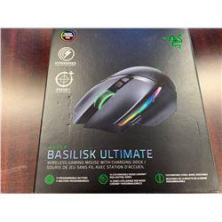 Razer Basilisk Ultimate Wireless Gaming Mouse w/ Charging Dock