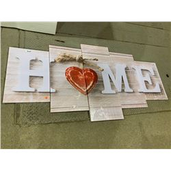 """""""Home"""" Letter Wall Decor"""