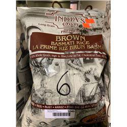 India's Own Brown Basmati Rice (4.54kg)