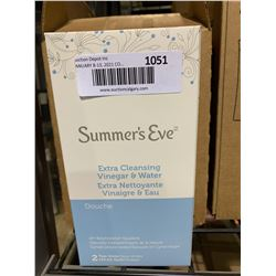 Case of 6 Summer's Eve Vinegar & Water Cleansers