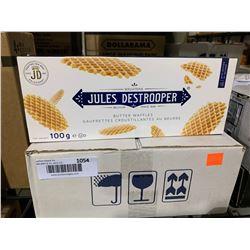 Case of Jules Destrooper Butter Waffles (12 x 100g)