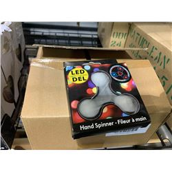Case of 24 LED Hand Spinners