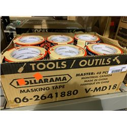 Case of 48 Small Duramax Masking Tape Rolls