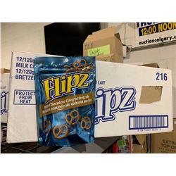 Case of Flipz Milk Chocolate Covered Pretzels (12 x 120g)