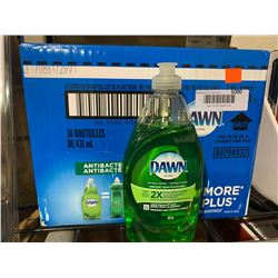 Case of Dawn Antibacterial Dish Soap (10 x 431mL)