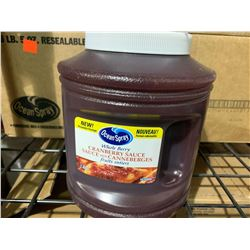 Case of Oceanspray Whole Berry Cranberry Sauce (6 x 2.45L)