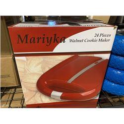 Mariyka 24 Pc Walnut Cookie Maker