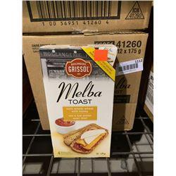Case of Melba Toast (12 x 175g)