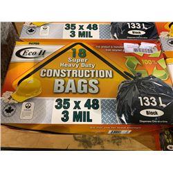 Eco II 18 Super Heavy Duty Construction Bags (133L)