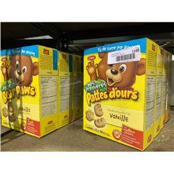 Bear Paws Vanilla Cookies (8 x 150g)