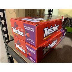 Twizzlers Wildberry Twizzelators Licorice Candy (957g) Lot of 2