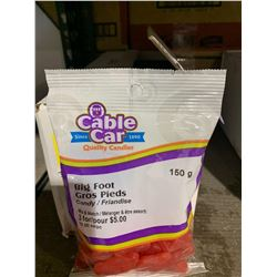 Case of Cable Car Big Foot Candy