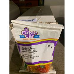 Case of Cable Car Gummi Bears Candy