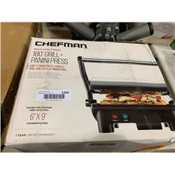 Chefman Multi-functional 180 Degree Grill & Panini Press