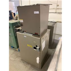 120,000 BTU natural Gas furnace with air conditioning cooling component. previously installed.