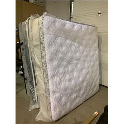 DELUXE KING SIZE FLOOR MODEL EURO TOP MATTRESS, EXTRA THICK DEISGN, RETAILS AT $2400 - IN WRAP, AS N