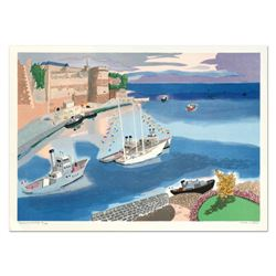 """Georges Lambert (1919-1998), """"Caen"""" Limited Edition Lithograph, Numbered and Han"""