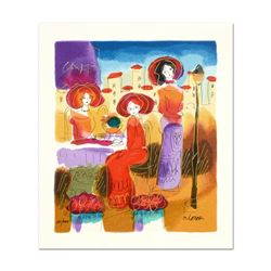 Moshe Leider, Limited Edition Serigraph, Numbered and Hand Signed with Letter of