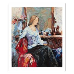 """Sergey Ignatenko, """"Long Day"""" Hand Signed Limited Edition Serigraph with Letter o"""
