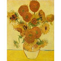 Van Gogh - Still Life With Sunflowers