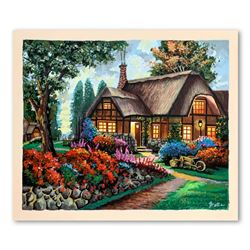 """Anatoly Metlan, """"Country House"""" Limited Edition Serigraph, Numbered and Hand Sig"""