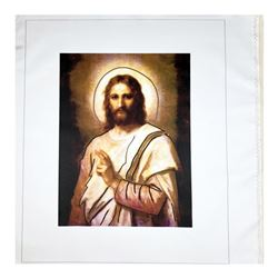 "Steve Kaufman (1960-2010), ""Jesus Peace (State 2)"" Hand Signed and Numbered Limi"