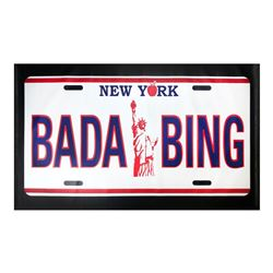 "Steve Kaufman (1960-2010), ""Bada Bing"" Hand Signed and Numbered Limited Edition"