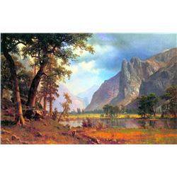 Yosemite Valley 2 by Albert Bierstadt
