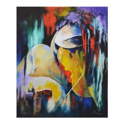 """Arbe, """"Virtuoso"""" Limited Edition on Canvas, Numbered and Hand Signed with Certif"""