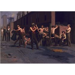 Thomas Anshutz - The Iron Workers