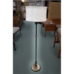 Vintage floor lamp with shade