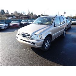 2002 Mercedes-Benz ML500