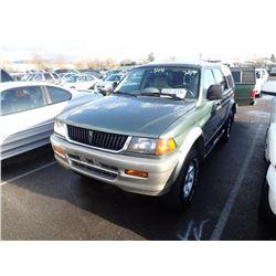 1998 Mitsubishi Montero Sport