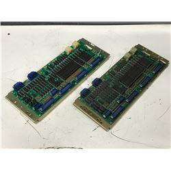 (2) YASKAWA JANCD-1021 CIRCUIT BOARD