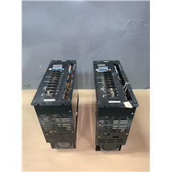 (2) - SANYO DENKI 68AA150TFR01 ABS SUPER SERVO AMPLIFIERS