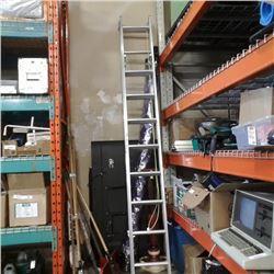 10ft extendable aluminum ladder