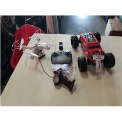 DRONE AND RC CAR